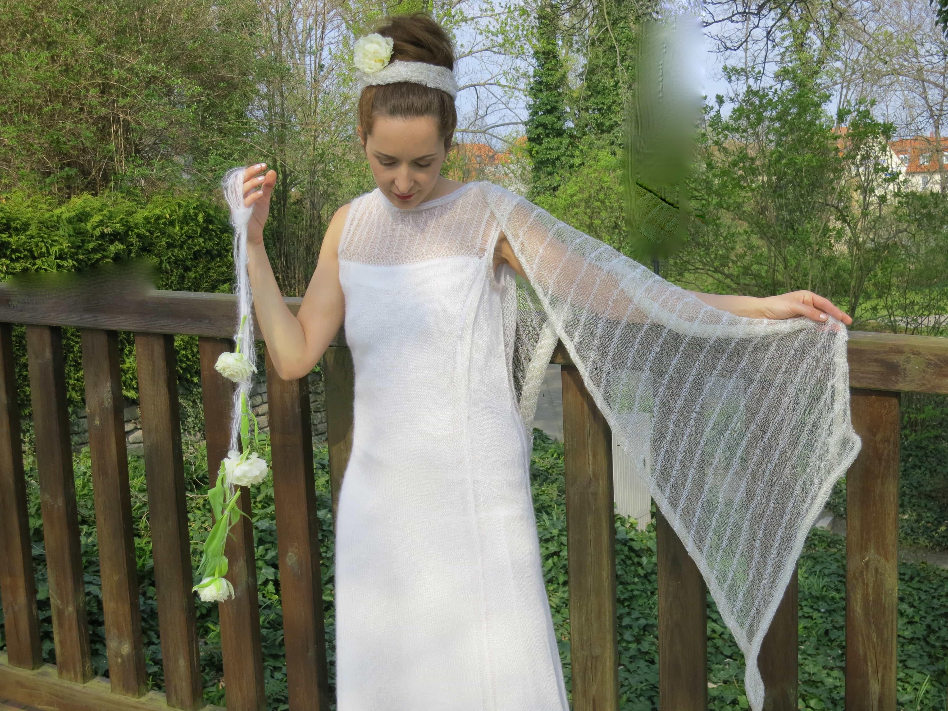 Brautschleier aus feinstem Garn