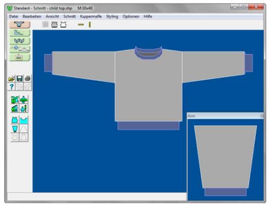 Sie können praxisnah DesignaKnit 8 (DK 8) erlernen.