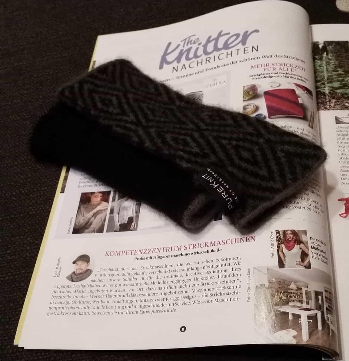 Unsere Ausgabe von the knitter
