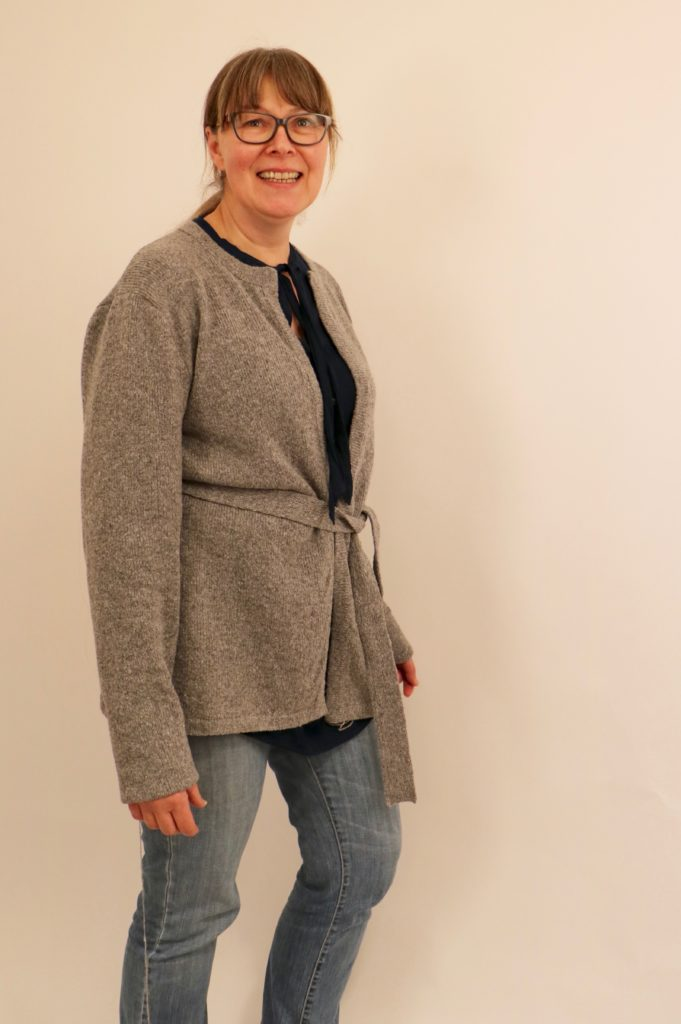 "Strickjacke aus ""Glasgow Tweed"""