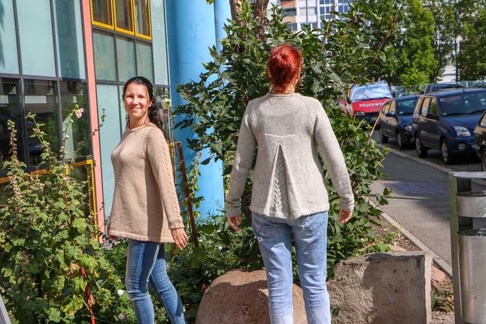 Kurs vom 22.08.2018: Die fertigen Pullover