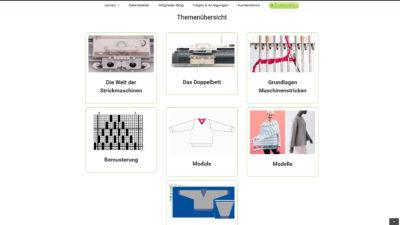 Screenshot Mitgliederbereich 02
