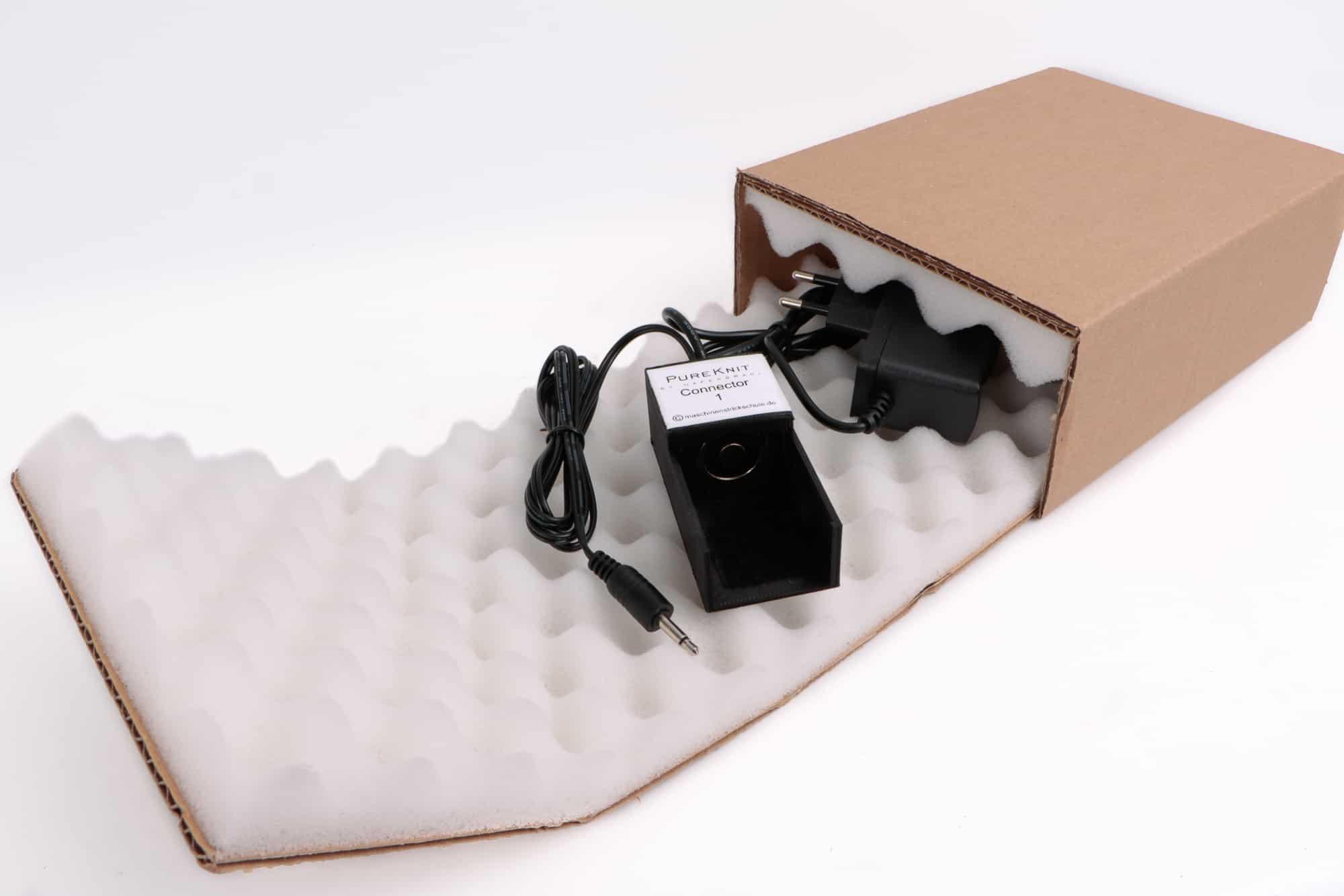 PureKnit Connector 1 im Karton