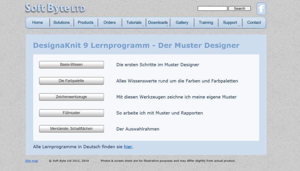 DesignaKnit 9, Grafik