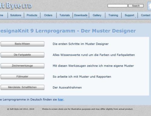 Neuigkeiten zu DesignaKnit 9