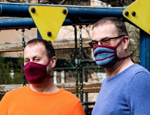 gestrickte Behelfsmaske – Unsere Überlegung zur Corona-Krise