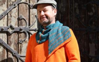 Werner mit Tuch Pipistrello
