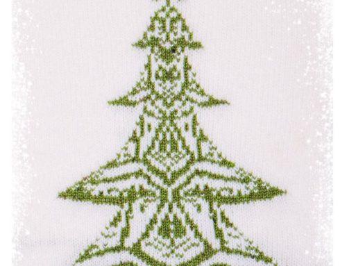 Ein gestrickter Weihnachtsgruß